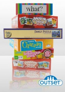 Outset Media Games Prize Pack