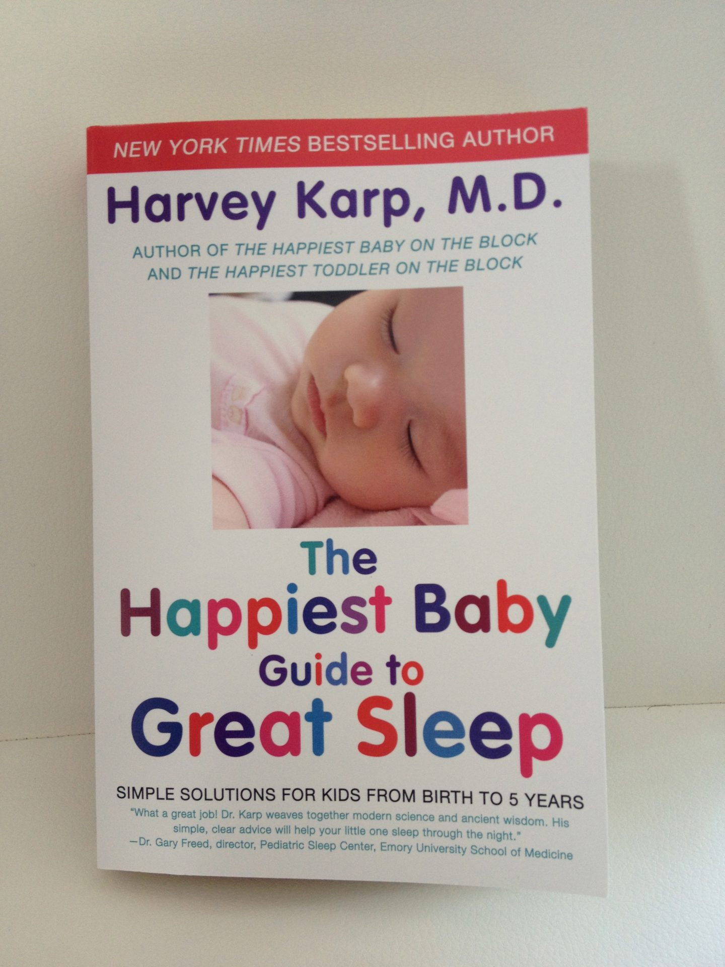 The Happiest Baby Guide to Great Sleep {Review}