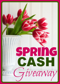#springcash giveaway