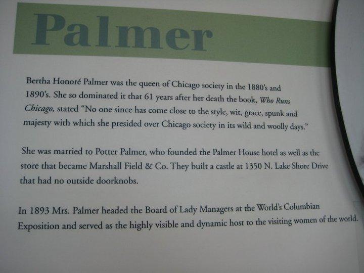 Palmer House Hotel Chicago history