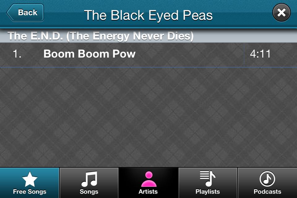 Video Star App Choose Song