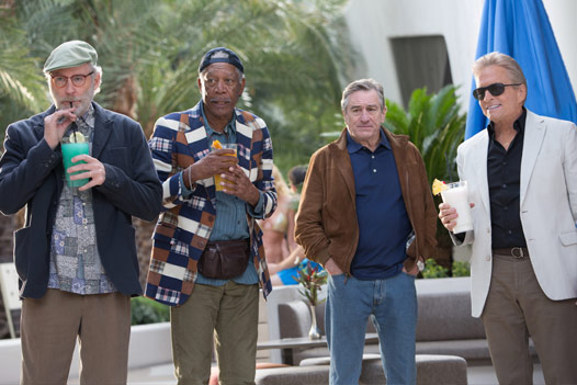 Is Last Vegas a Hangover Copy with an Older Cast?