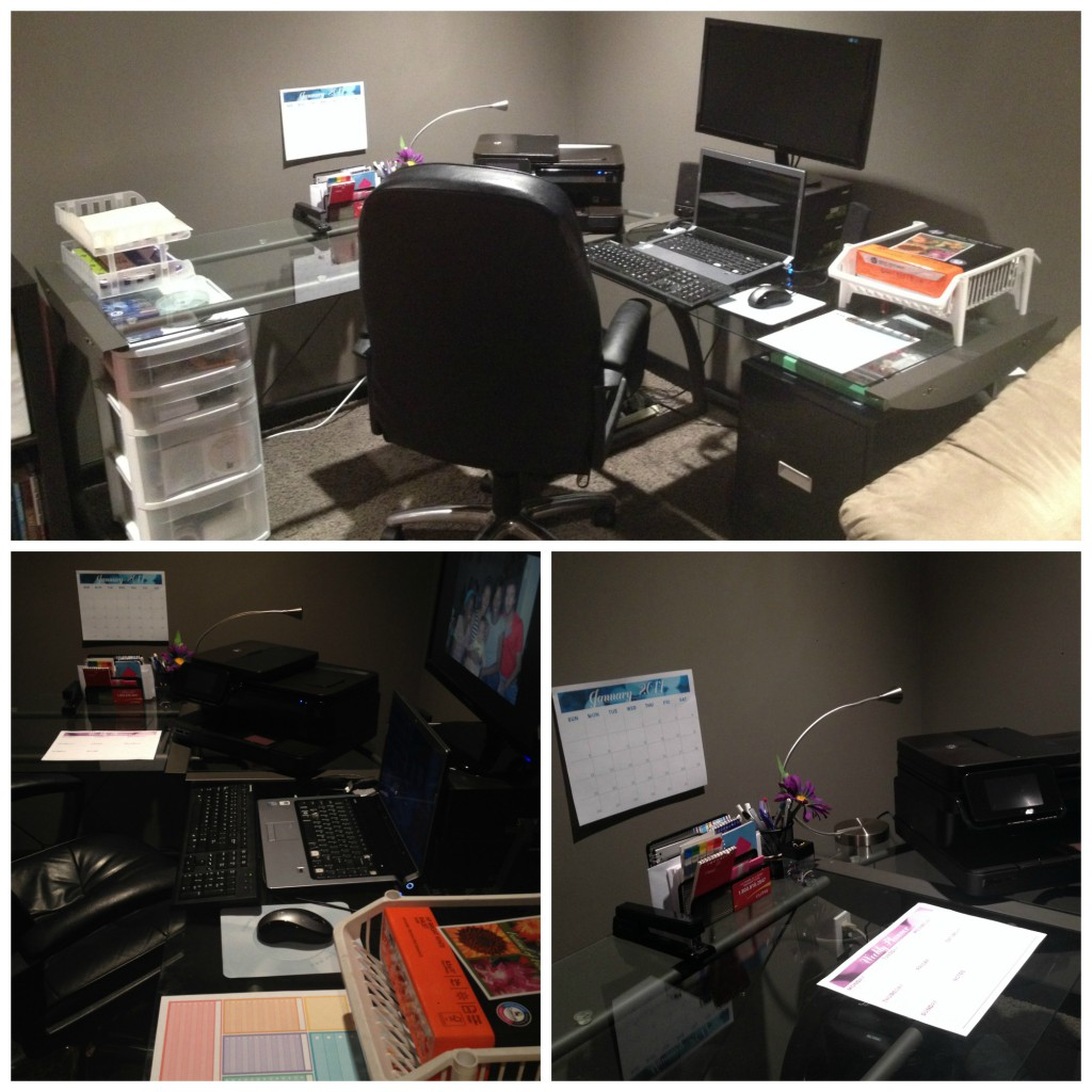 HP OrganizeYourLife DeskAft