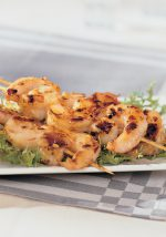 shrimp satay indoor grill