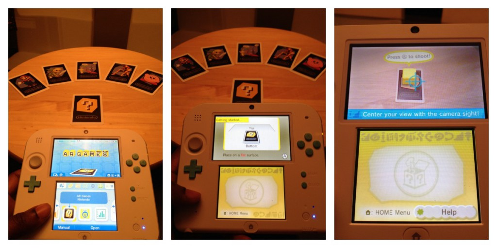 2DS AR GAMES