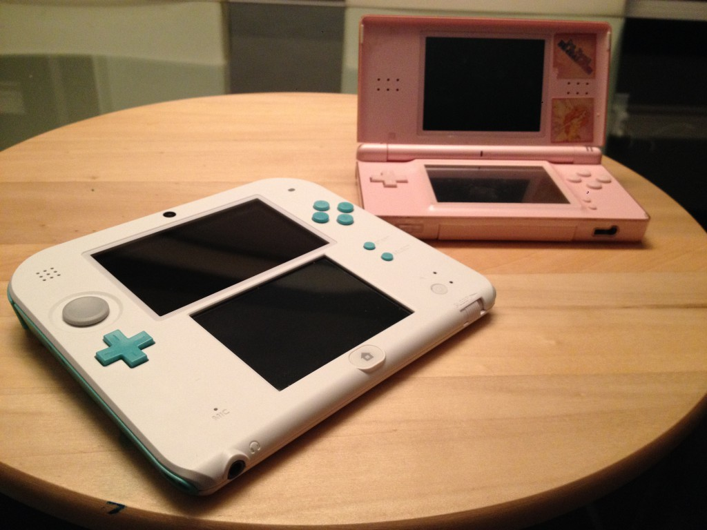 2DS vs DS Lite