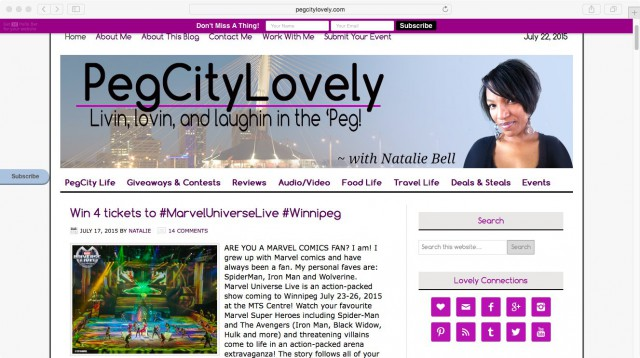 PegCityLovely July 2015 Screenshot