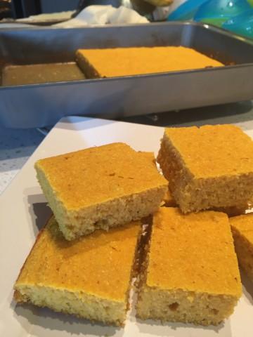 Pumpkin Cornbread (Guiding Stars)