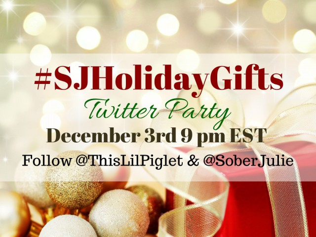 #SJHolidayGifts Twitter Party