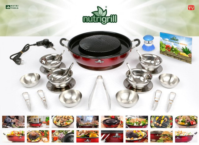 Nutrition for Your Kitchen with Nutrigrill #PCLGiftGuide15