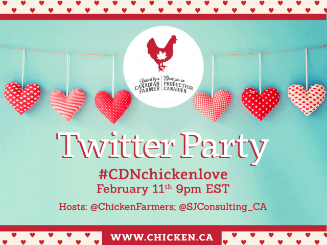 #CDNCHickenLove Twitter Party