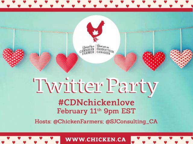 #CDNCHickenLove Twitter Party