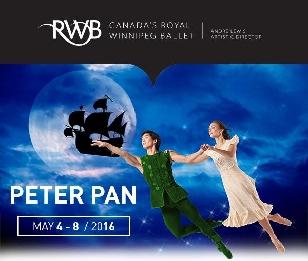 Peter Pan at Royal Winnipeg Ballet #RWBPeterPan