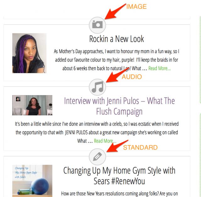 Blog Changes