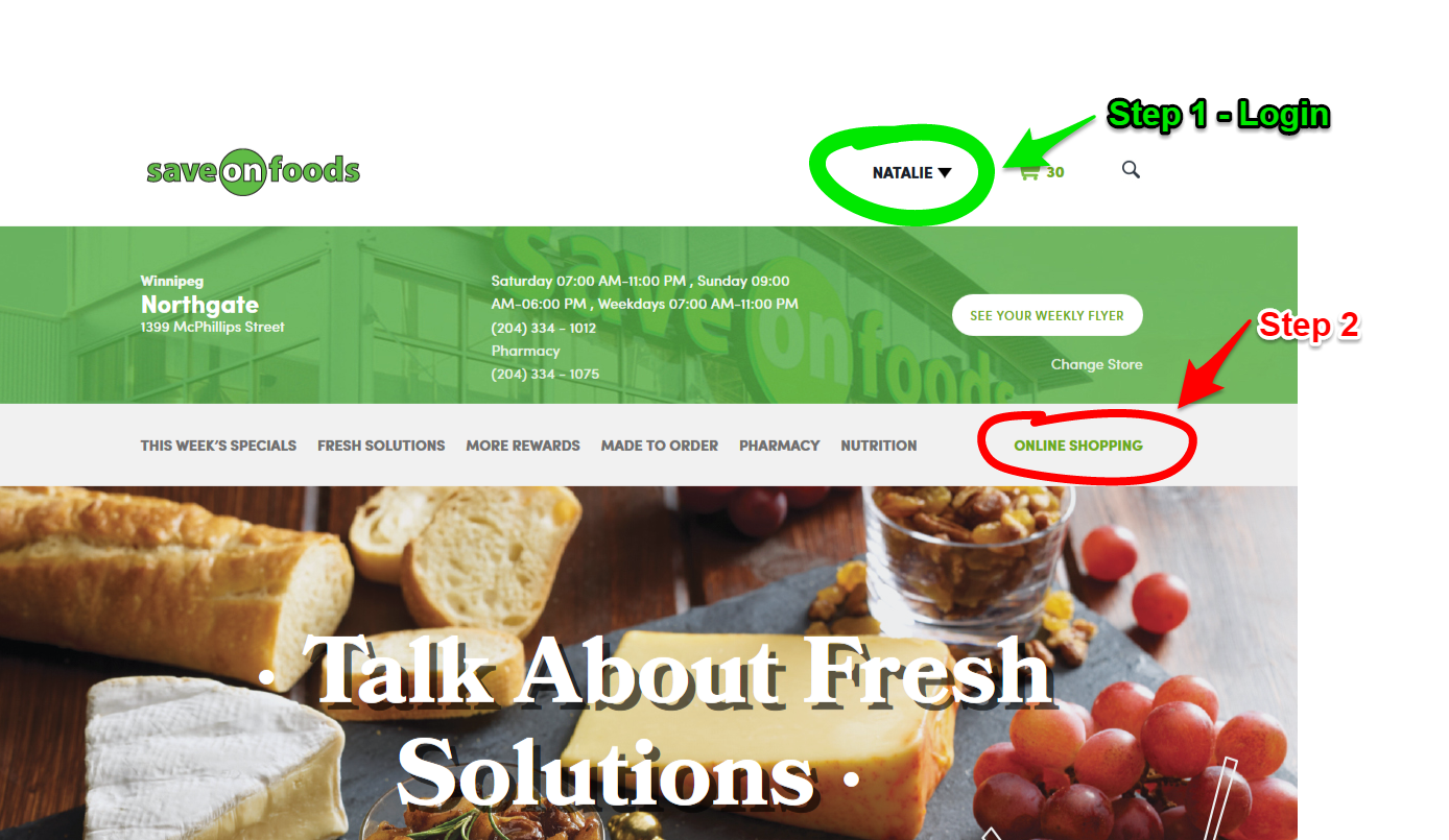 My Fun Save-On-Foods Online Shopping Experience