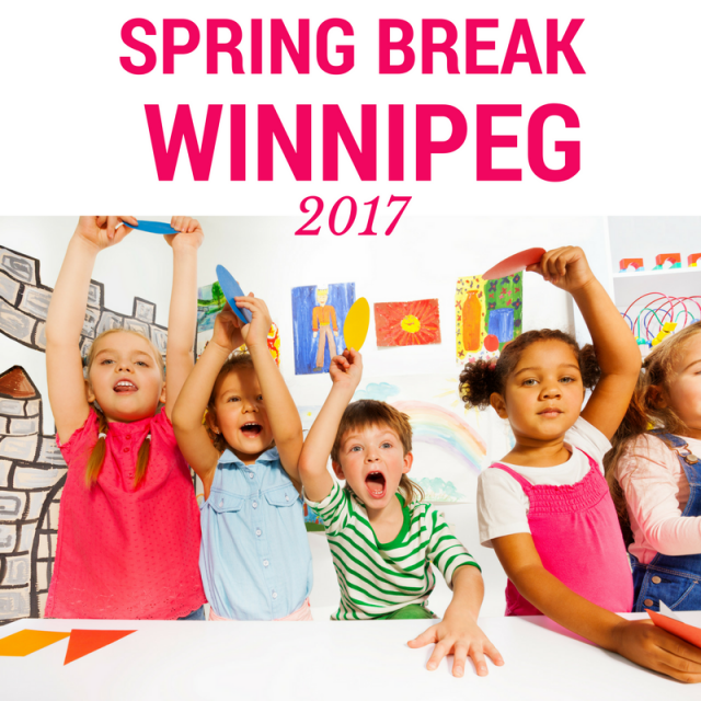 Spring Break In Winnipeg - Children's museum birthday party winnipeg