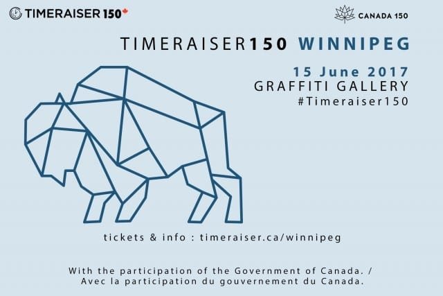 Timeraiser150 Winnipeg – Pay For Art By Paying It Forward