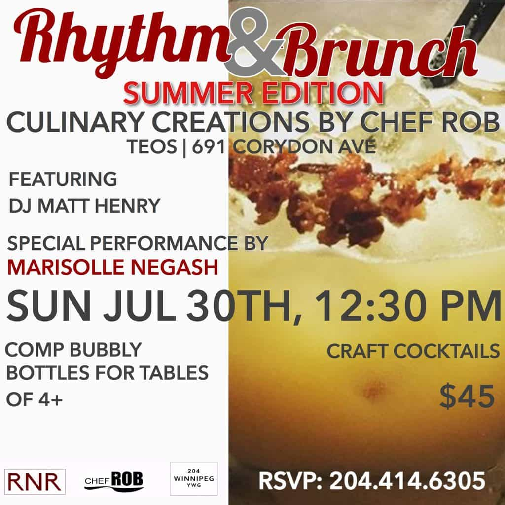 Rhythm & Brunch: Summer Edition