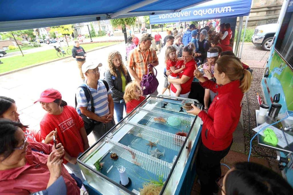 Vancouver Aquarium Visits Manitoba #AquaVan150
