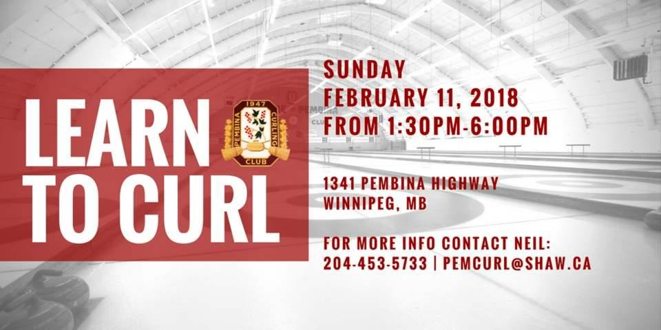 Learn to Curl at Pembina Curling Club