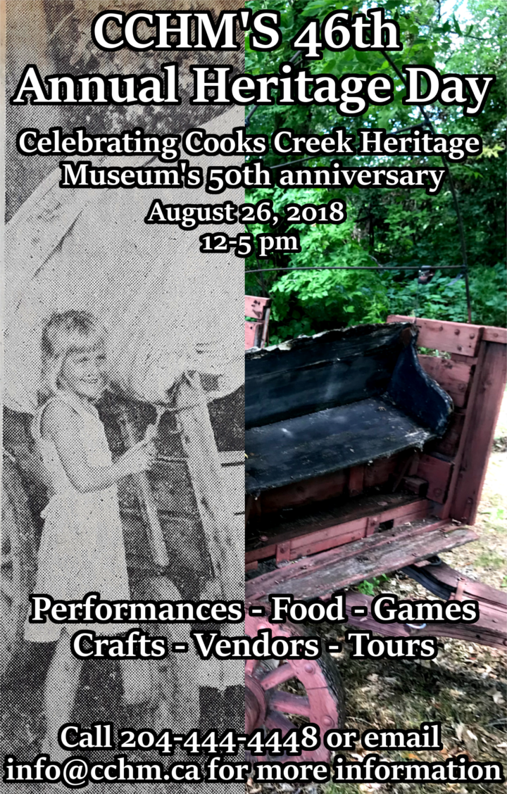 Cook's Creek Heritage Museum's Annual Heritage Day